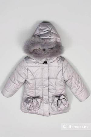 Куртка на синтепоне De Salitto Италия р.110 для девочки