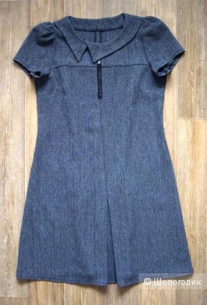 Маленькое серое платье 44-46