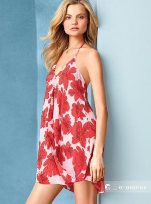 Шелковое платье Victoria Secret xs новое без бирки