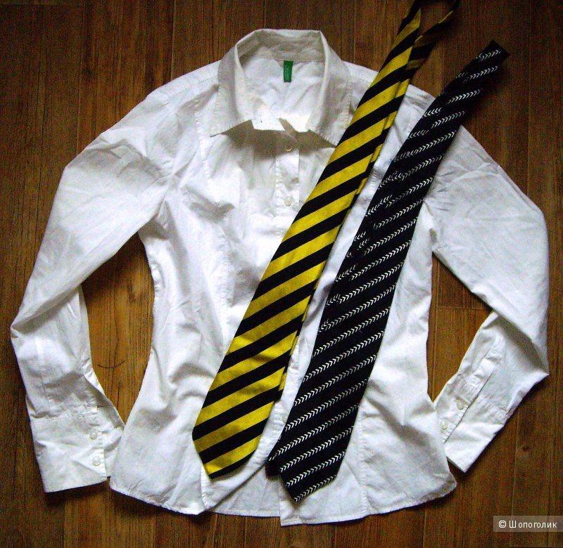 d8bc357ea94 Белая рубашка Benetton 44-46