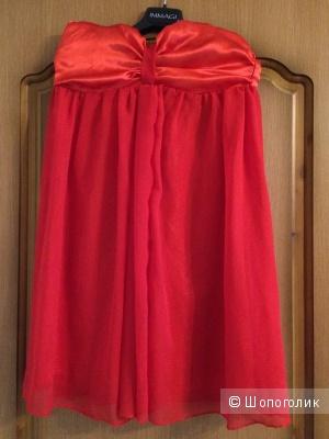Новое Красное шифоновое платье, XS