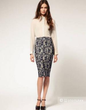 Красивая кружевная юбка-карандаш Asos