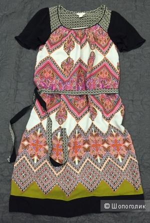 Платье Monsoon из крепа с поясом