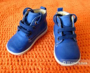 Синие ботиночки Falcotto by Naturino, 18 р-р