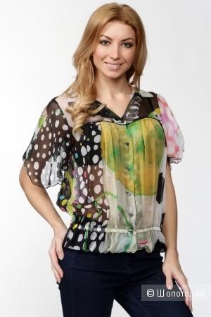 Пристрою новую шелковую блузку  Galliano