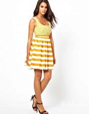 Little Mistress Stripe Dress/ UK 8