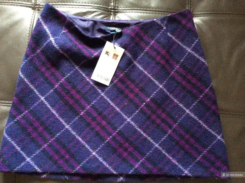 Новая шерстяная юбка Burberry