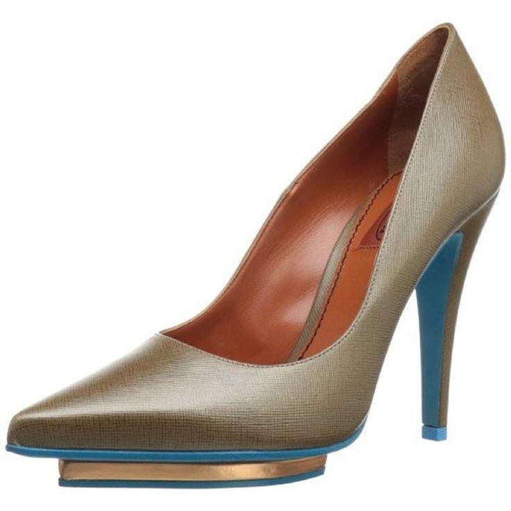 Пристраиваются красивущие Missoni Womens Leather Pointed Toes Pumps !!!