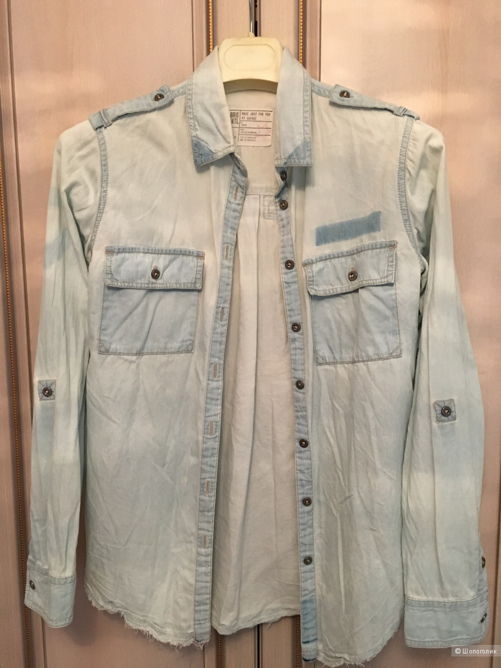 Джинсовая рубашка Logg H&M