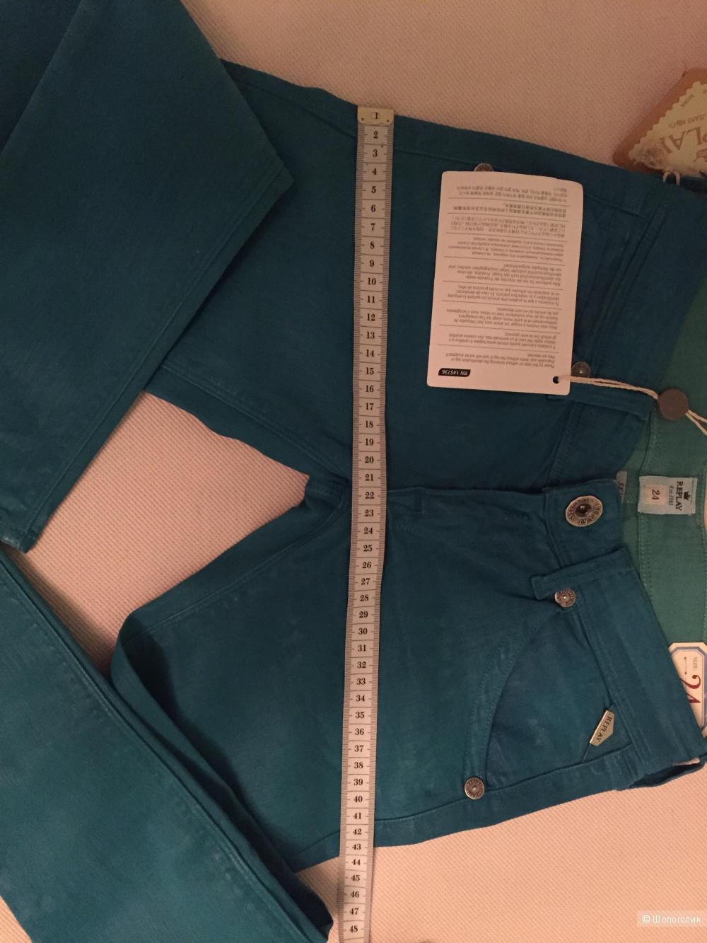 Новые джинсы REPLAY Италия Размер 24 (большемерки на 25 подойдут)