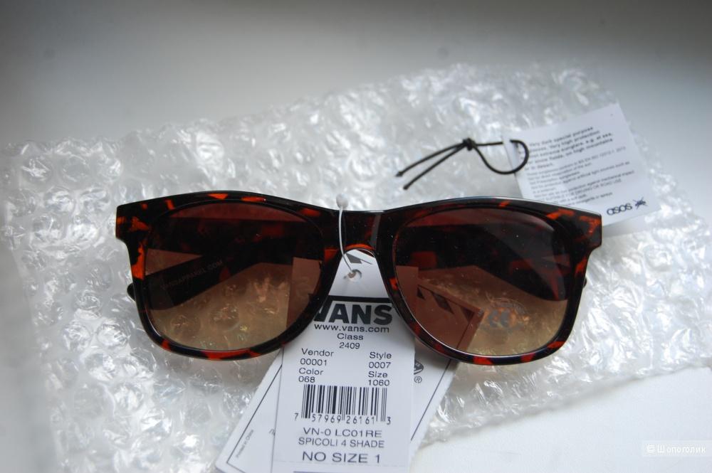 Новые солнцезащитные очки VANS