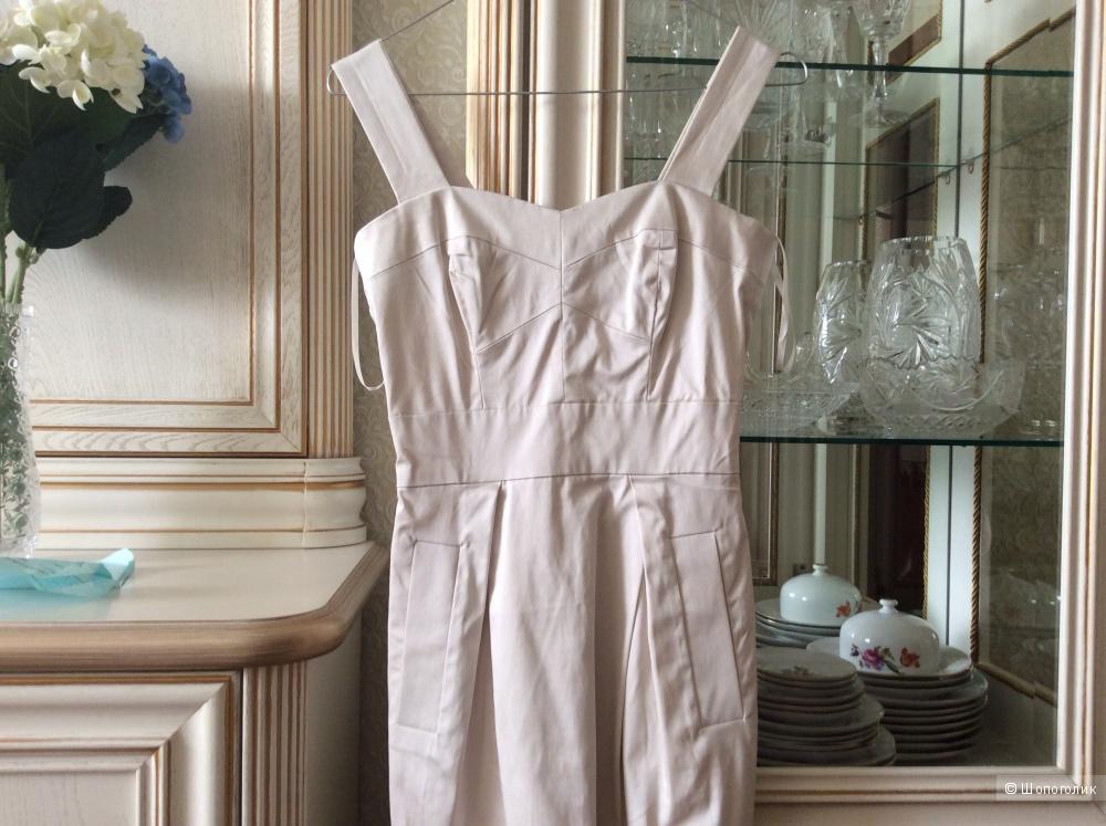5e18c2e8f20 Очень красивое белое платье French Connection XS