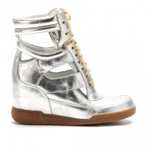 Продам новые Marc By Marc Jacobs Silver Kisha Cutout Hidden Wedge Sneakers