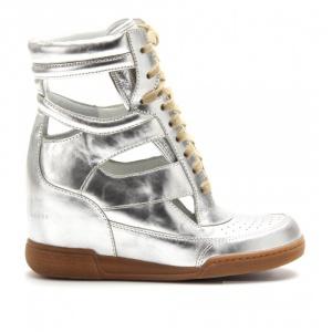 Продам новые Marc By Marc Jacobs Silver Kisha Cutout Hidden Wedge Sneakers