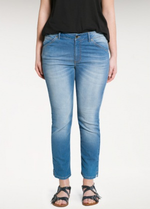 Новые джинсы большого размера Violeta by MANGO размер 20 USA
