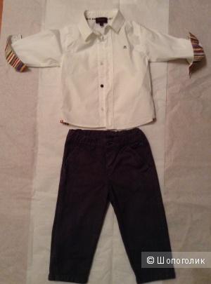 Рубашка и джинсы Paul Smith