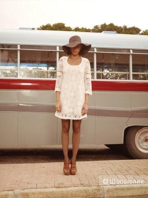 Шикарное кружевное платье French Connection