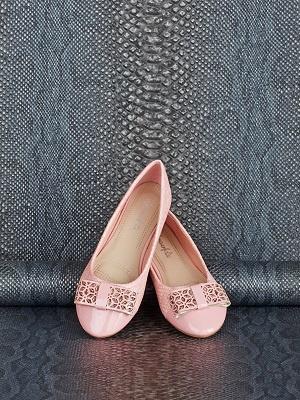 Новые розовые балетки