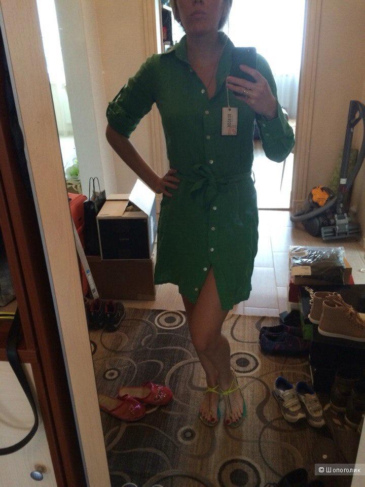 Платье-рубашка Benson 100% лен  XS, S, M