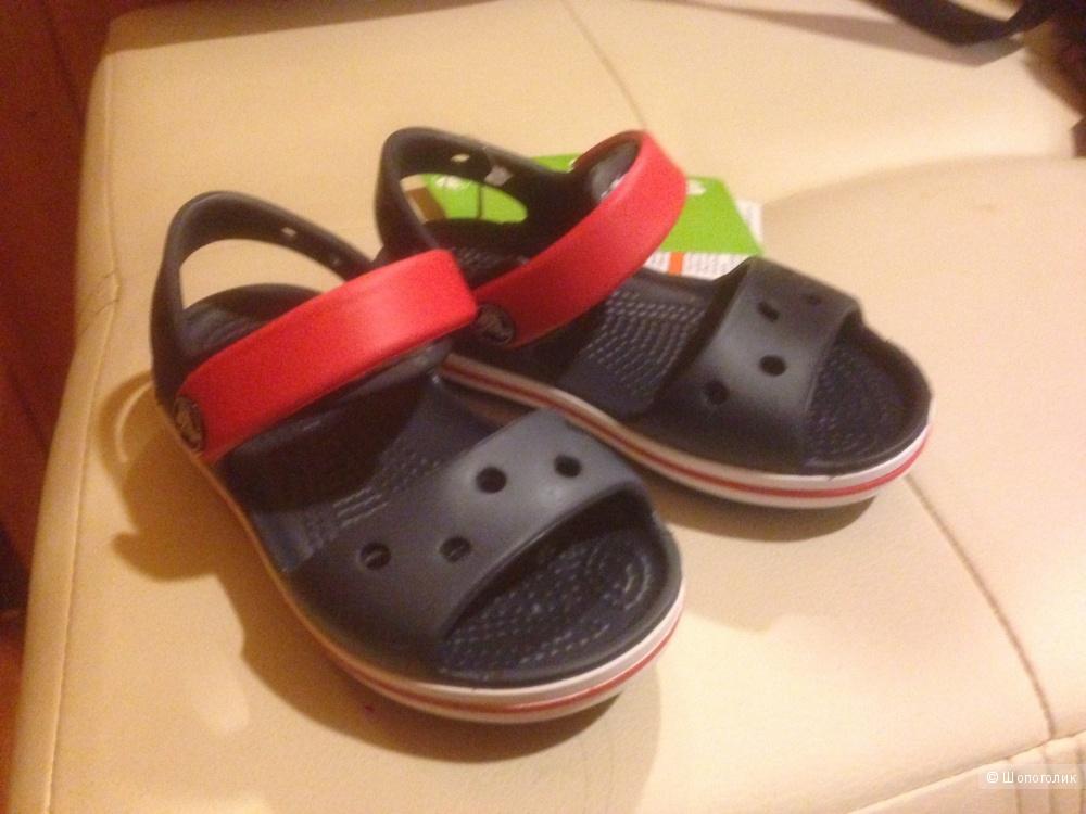 Новые сандалии CROCS Crocband Sandal Kids  c7