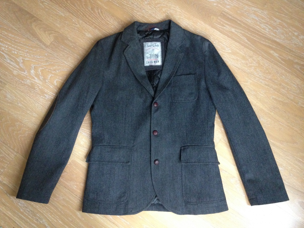 Пиджак мужской утепленный Zara Man