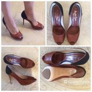 Новые итальянские туфли на шпильке р.39-40