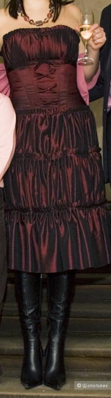Вечернее платье-корсет от Елены Яворской.