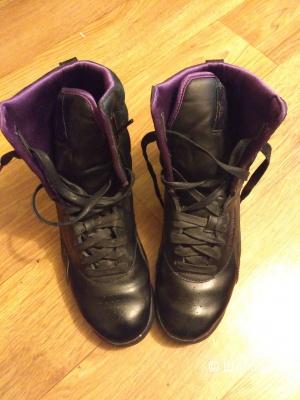 Высокие кроссовки Reebok в идеале, 38р-р
