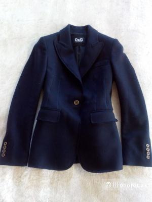 Шерстяной пиджак D&G
