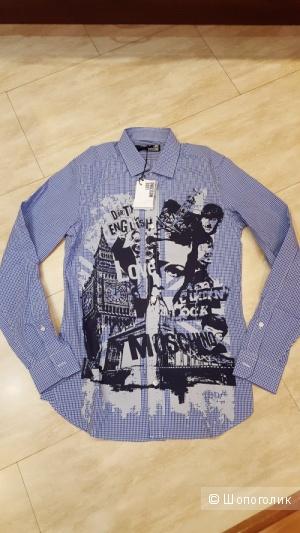 Новые мужские рубашки Love Moschino, размер S