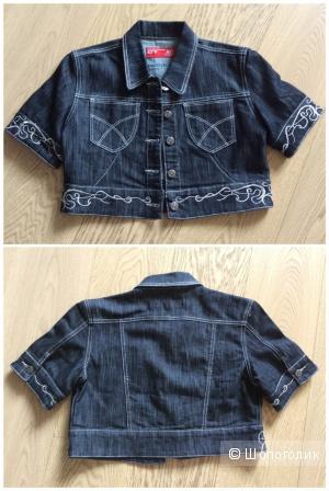 Короткая джинсовая куртка р. 44-46