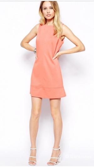 Трапециевидное цельнокройное платье ASOS (размер UK 10/ EU 38)