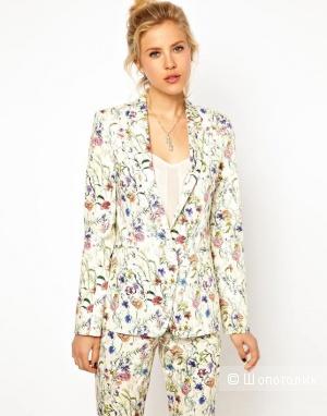 ASOS Premium Blazer In Floral Print / uk 10