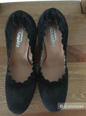 Туфли ALEXANDRA размер 37,5 замша