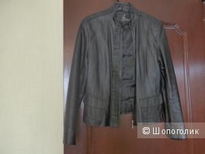 Кожаная куртка 46 р-р