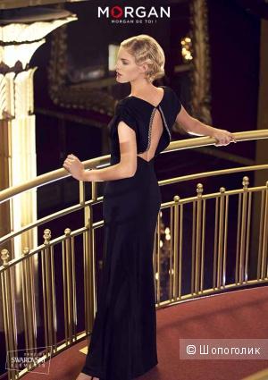 Вечернее платье. Лимитированная коллекция Morgan de toi - кристаллы  Swarovski