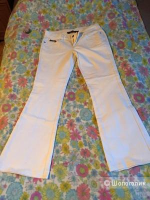 Джинсовые брюки белые Richmond Denim размер 30.