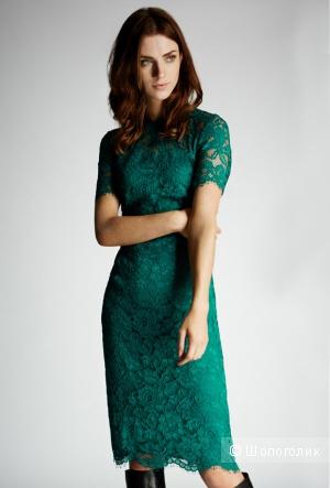 Изумительно красивое платье цвета нефрит Coast