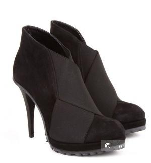 Туфли замшевые Nila-Nila, размер 38