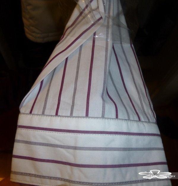 Мужская рубашка DKNY Jeans размер XXL (очень большая! и в ширину и в высоту)