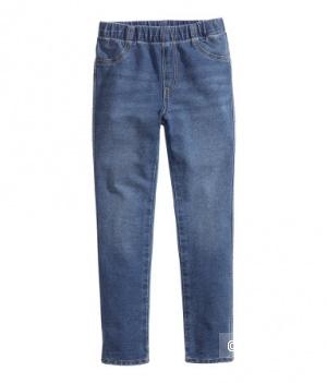 Новые джеггинсы торговой марки H&M на девочку на рост от 80-92 см