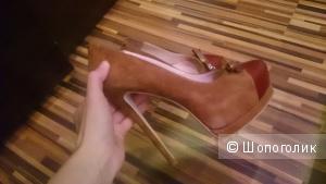 Туфли Glossy 38,5 размер