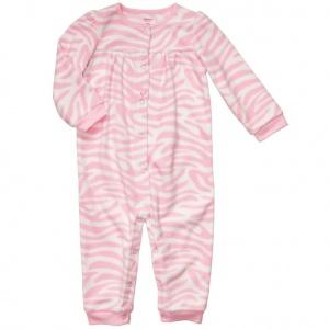 Комбинезон-слип Картерс (CarterS) на девочку флисовый розовый на 18 месяцев (78-83 см). с этикетками!