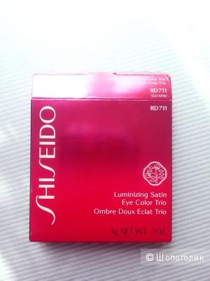 Тени shiseido новые