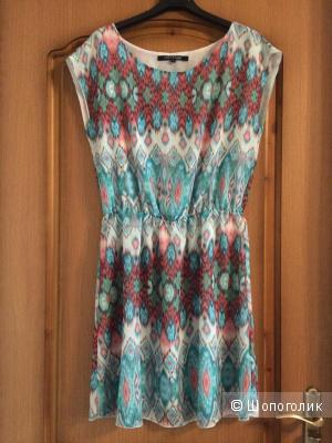 Летнее платье красивой расцветки, Top secret, размер 36