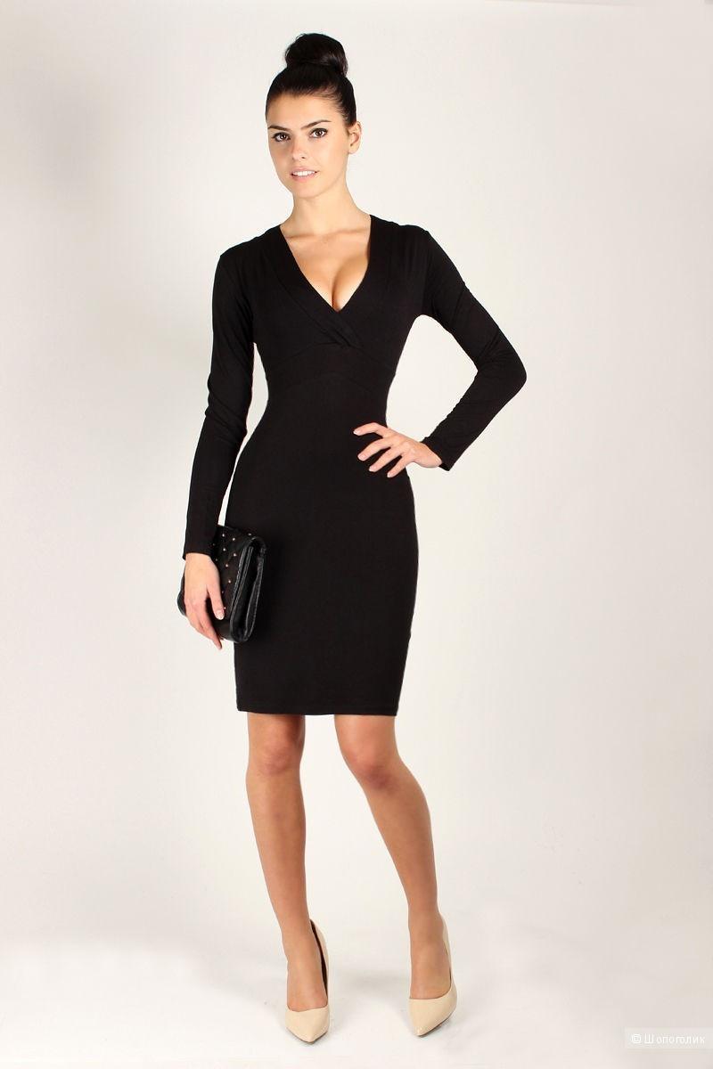 d159d1412bd Черное платье на каждый день