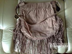 Новая замшевая  сумка  Patrizia Pepe