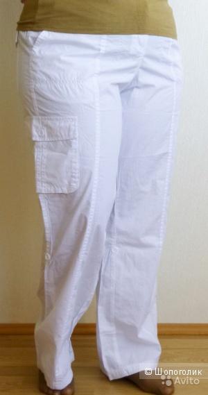 Простые летние брюки х/б, размер ближе к 52 (росс)