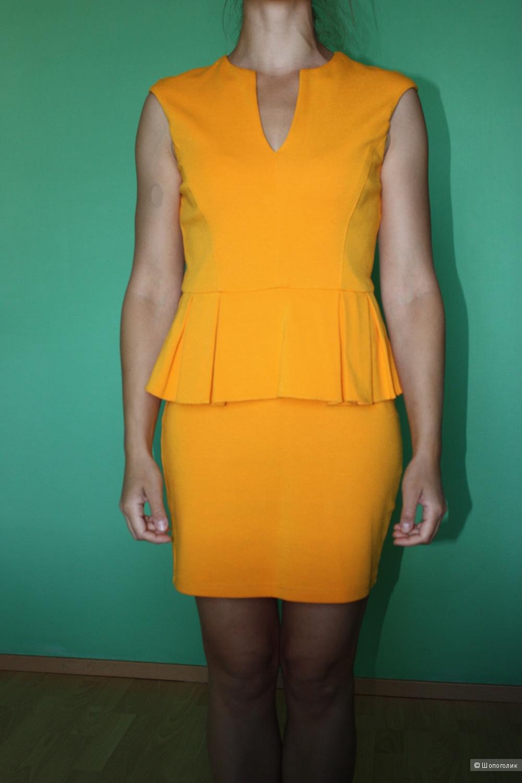 Продам платье с баской River Island, UK 10, S-M