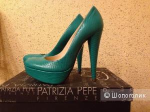 Новые кожаные туфли Patrizia Pepe (Италия) р. 37